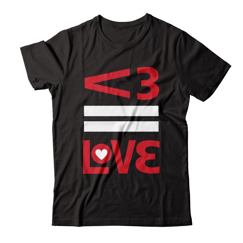 "David Haydn-Jones' ""<3 = Love"" Tee"
