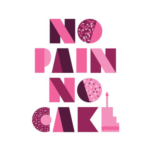 "Sofia Vergara ""No Pain No Cake"" Tee"